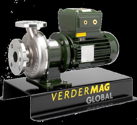 Pompe centrifuge à entrainement magnétique 01