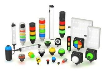 Voyant à LED, éclairage, balise lumineuse, bouton tactile 01